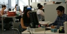 Gente trabajando   Internet