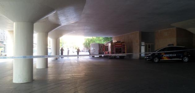 Explosión controlada en el Ayuntamiento de Logroño   Redacción