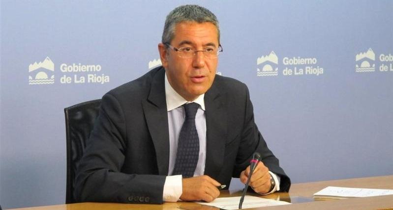 Antonino Burgos, consejero de Obras Públicas   Gobierno de La Rioja