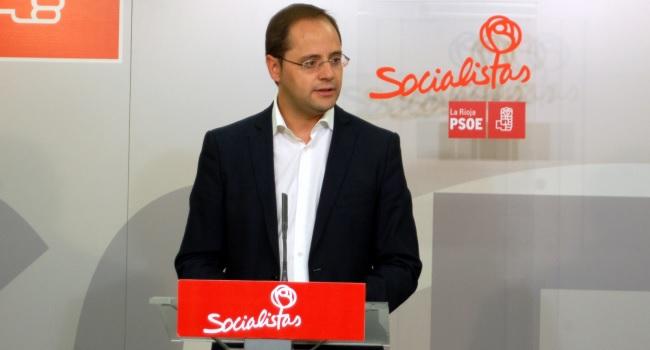 César Luena, secretario general del PSOE de La Rioja   PSOE