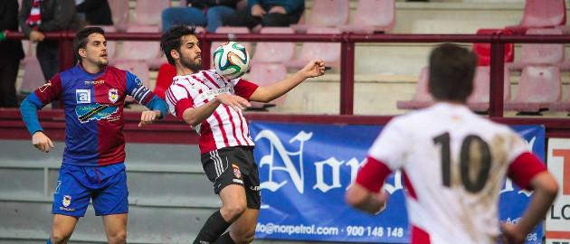 Julio Rico, jugador de la UD Logroñés | UD Logroñés