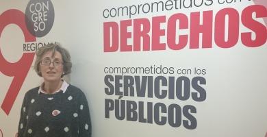 Pilar García FSP-UGT   Redacción
