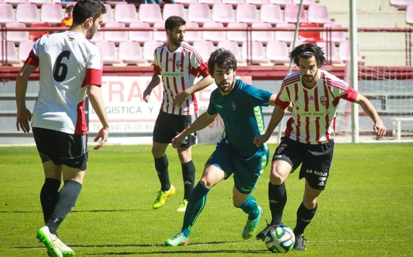 Chevi ante el Valladolid B | UD Logroñés