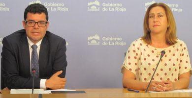 Begoña Martínez y Alfonso Domínguez | Gobierno de La Rioja