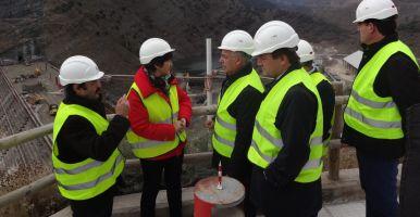 Visita Presa Enciso   Gobierno de La Rioja