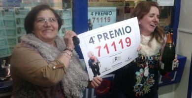 Cuarto premio, Lotería 2015   Redacción