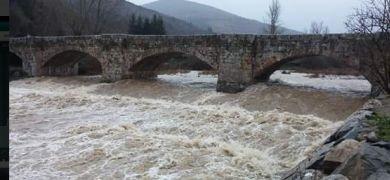 crecida río Oja Ezcaray   Internet