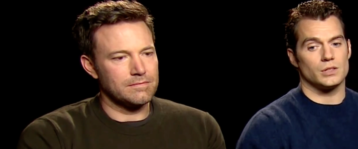 Ben Affleck triste Batman V Superman