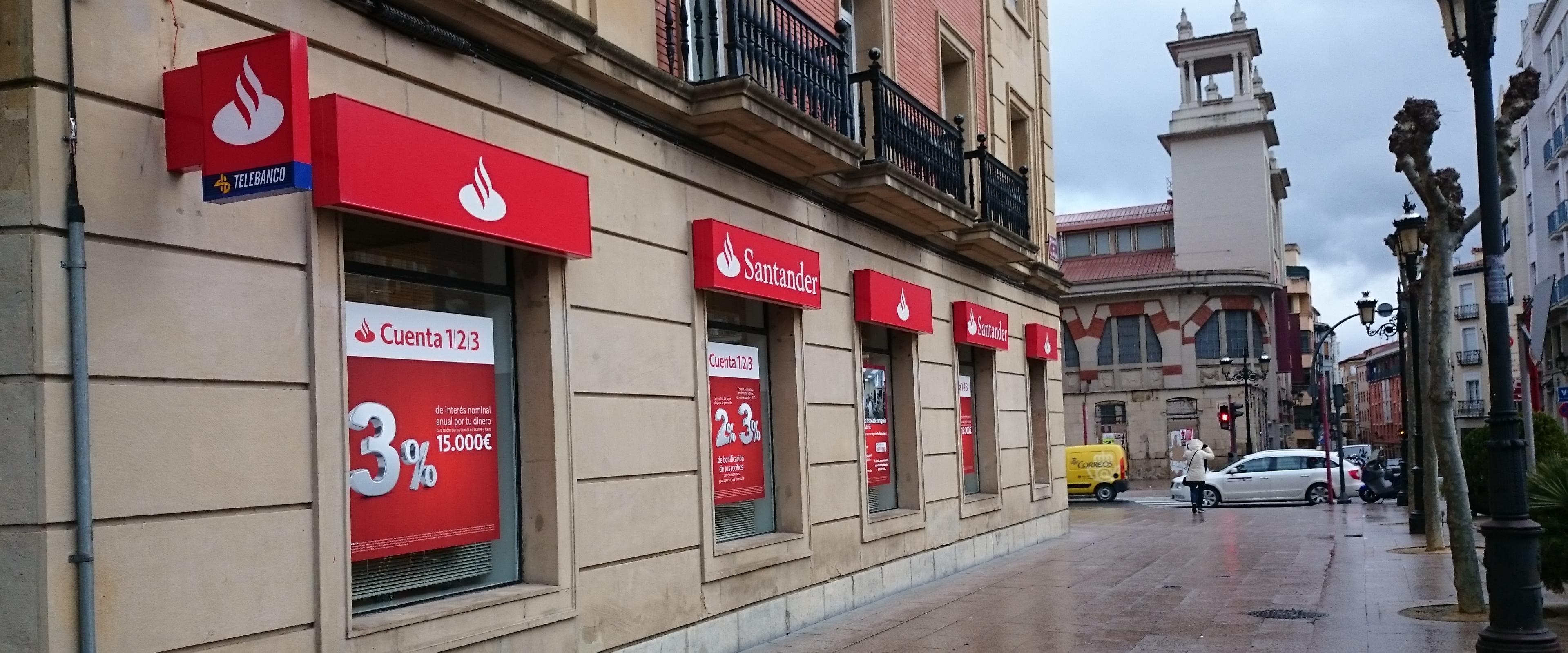 El banco santander cerrar 450 oficinas a lo largo de este for Banco santander oficinas