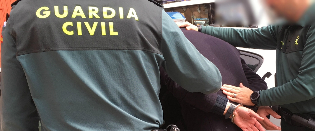 detenido guardia civil