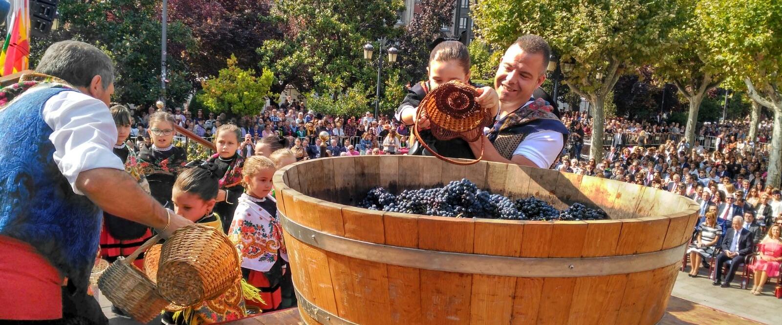 Así Será El Pisado De La Uva Rioja2 Com