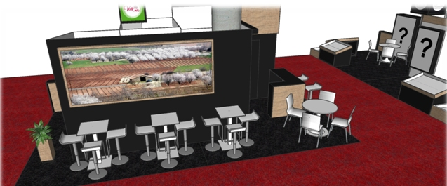Stand Fruit Attraction