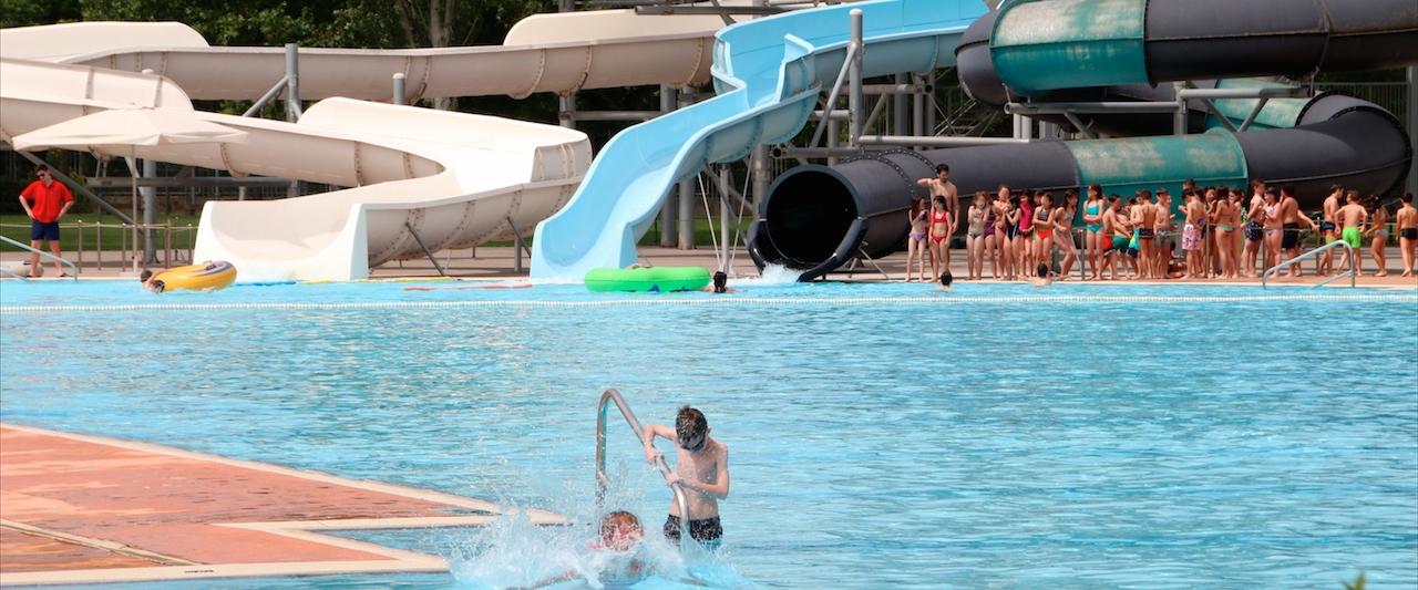 Tres piscinas para exprimir al m ximo el verano en logro o for Piscina 3 re