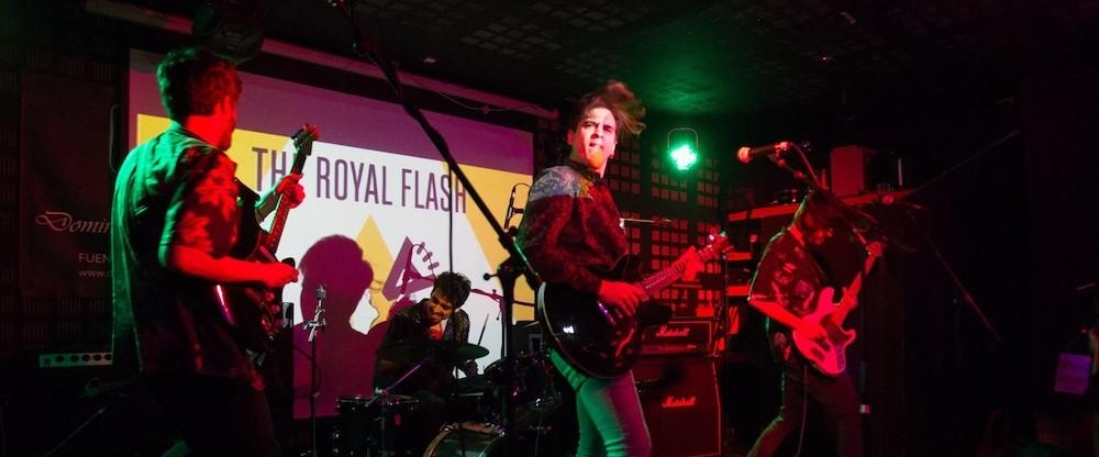 the royal flash en actual