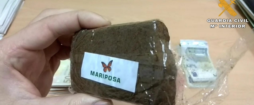 operación mariposa,  guardia civil