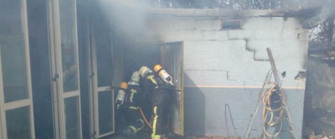 Incendio en Tudela