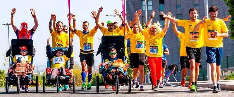 corredores maraton vitoria