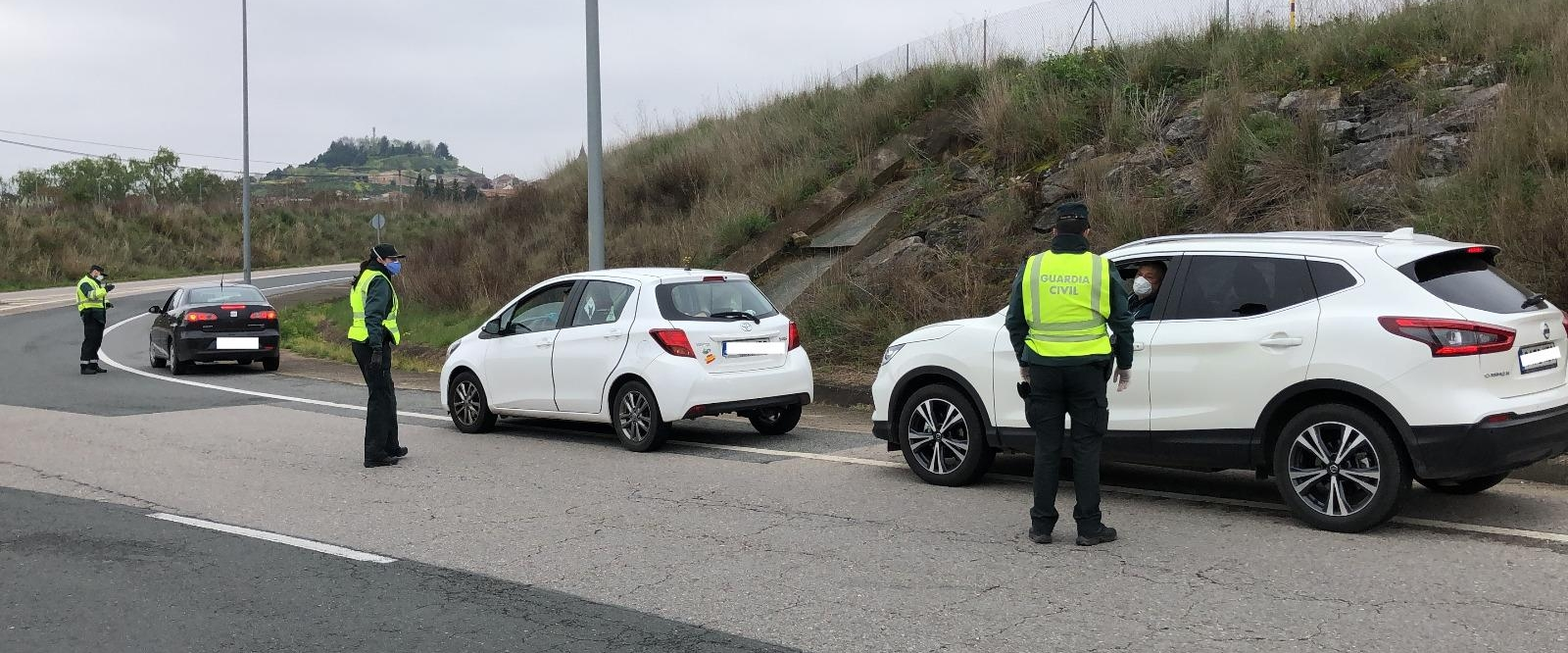 control, carretera, Guardia Civil
