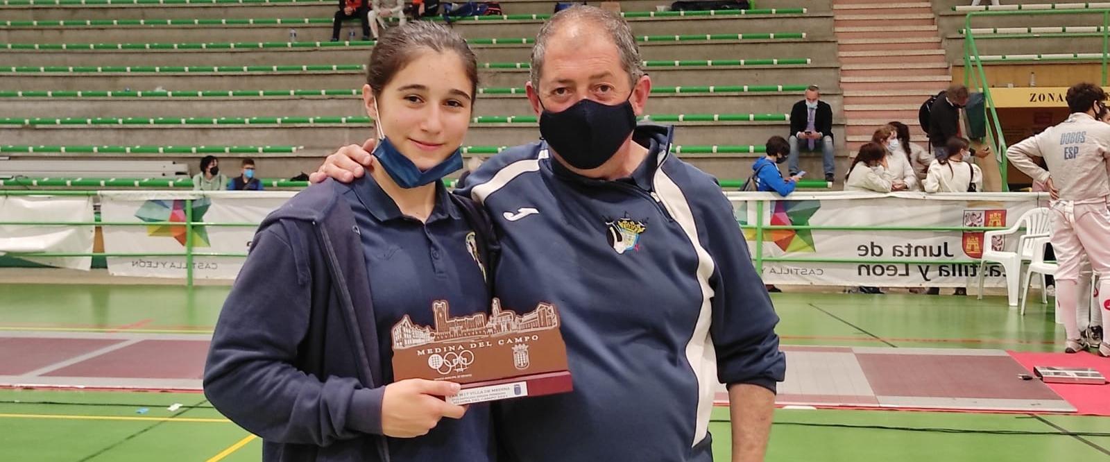 Lola Estévez se lleva el bronce en Medina del Campo