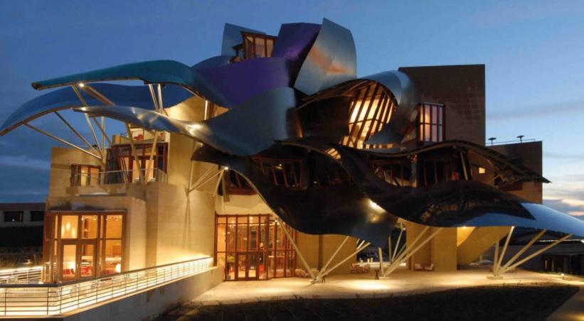 Hoteluri insolite deco relooking arquitecto bodegas marques de riscal - Arquitecto bodegas marques de riscal ...